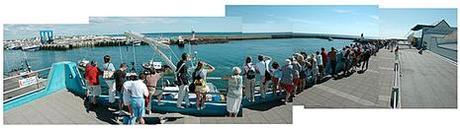 Retour des bâteaux de pêche au Guilvinec