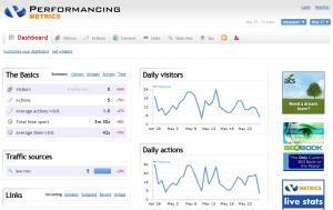Clicky Web VS Performancing Metrics : du pareil au même!
