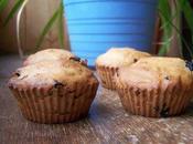 Muffins sans oeufs pommes raisins secs