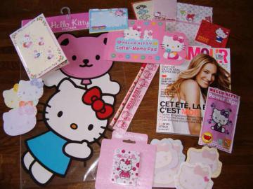 I love Hello Kitty - Merci les copines!!!