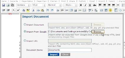 zoho-import-2 Importez tous vos documents de Google Documents sur Zoho Writer en deux clics