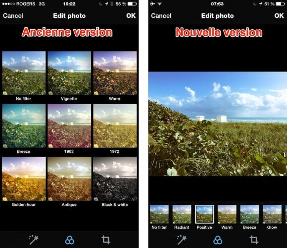 twitter ajuster intensité des filtres iphone android 1 580x500 Twitter iPhone et Android : il est possible d'ajuster le niveau d'intensité des filtres