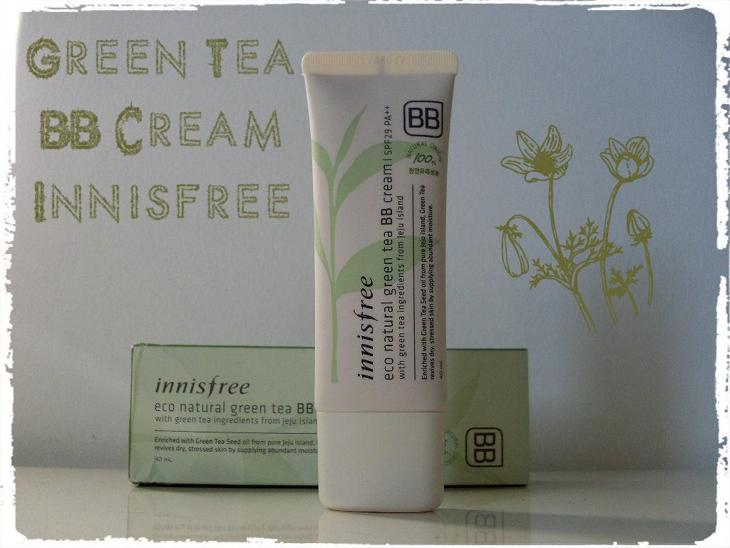 Je test : Eco Natural Grean Tea BB Cream d'Innisfree