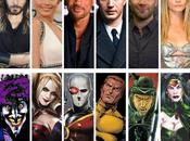 Suicide Squad Will Smith, Hardy, Margot Robbie Jared Leto seront l'affiche