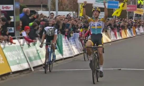 Tom Meeusen remporte le cyclo-cross de Ruddervoorde!