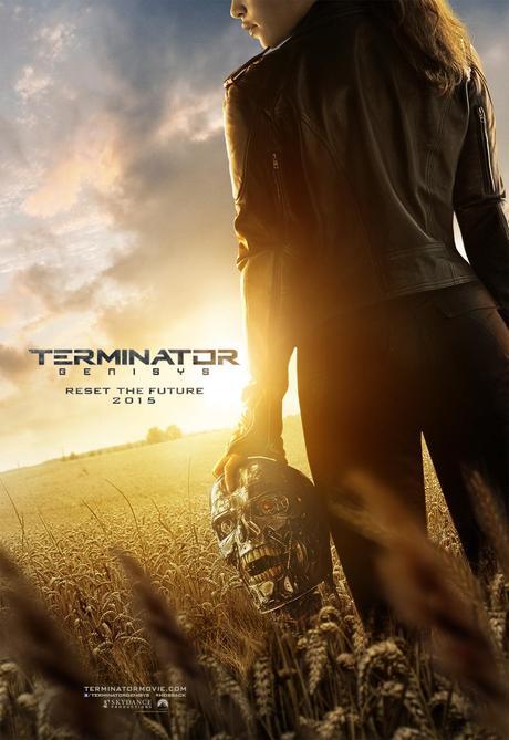 TERMINATOR GENISYS affiche [CINÉMA] Exclu : Trailer de Terminator Genisys