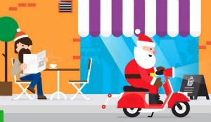 sur la piste du pere noel Sur la piste du père Noël avec le calendrier de l'avent de Google  sur la piste du pere noel