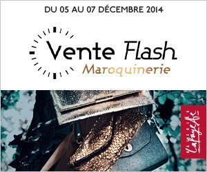 Vente Flash maroquinerie Galeries Lafayette