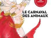 Carnaval Animaux illustré Pascale Bordet, costumière théatre aquarelliste