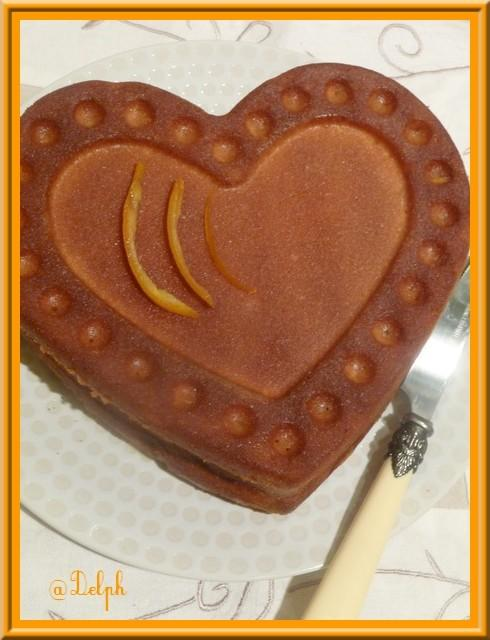 Gâteau à l'orange ultra fondant