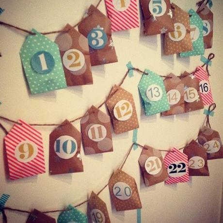 Mon calendrier de petites maisons (1er décembre) <script type=