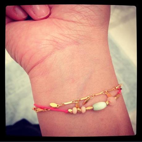 Mon bracelet Louise Misha (4 décembre)