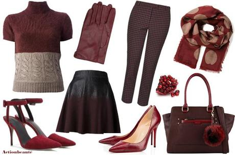 pantone marsala fashion