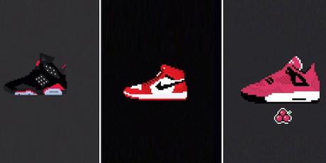 Vos sneakers préférées en 8-Bit