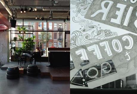 Blog tour Amsterdam - Volkshotel, Uber and a roundup