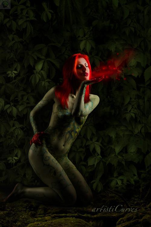 Cosplay – BodyPaint – Poison Ivy #36