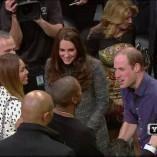 William et Kate ont été voir le King