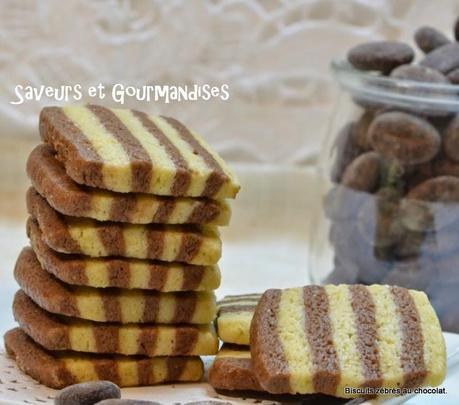Biscuits Zébrés au Cacao.