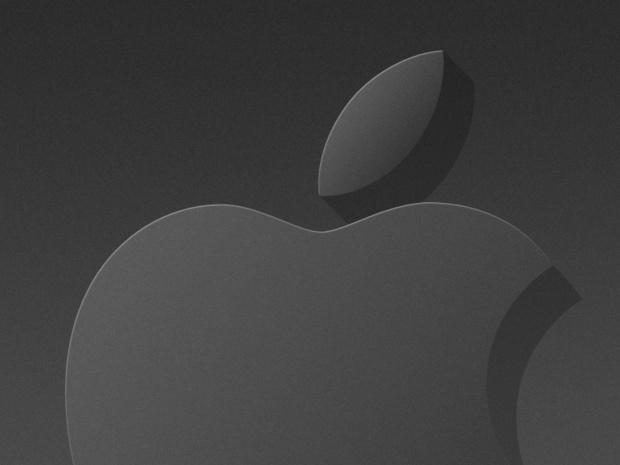Dark Apple: Wallpaper Mac, iPhone, iPad