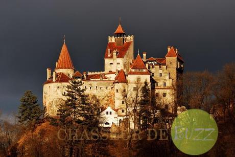 château de Dracula en Roumanie