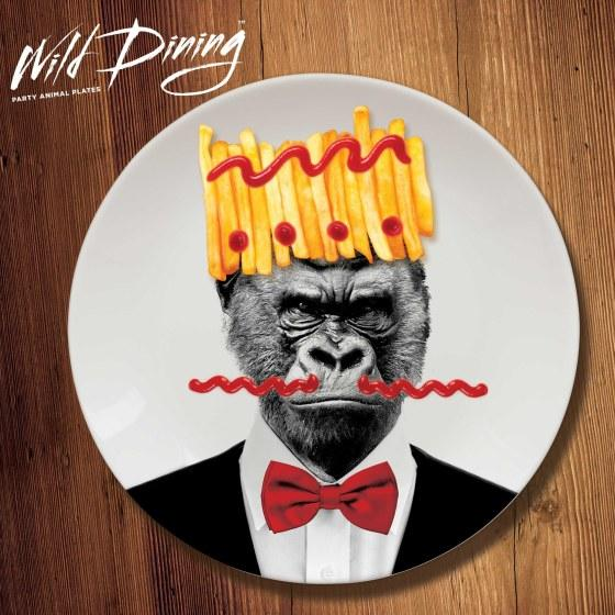 Assiettes Wild Dining