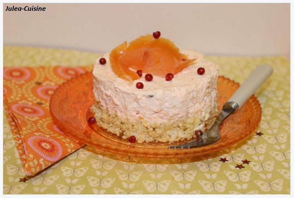 Cheesecake salé au saumon Entrée festive! | À Découvrir