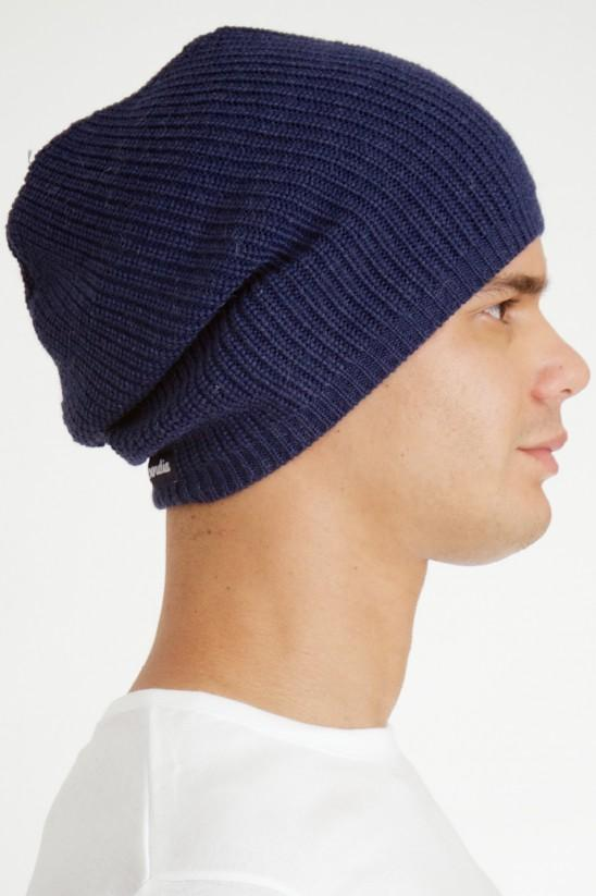 Wide cap midnight blue trend.