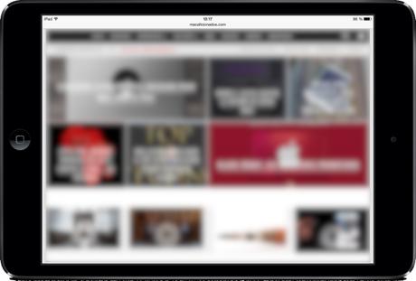 MacAficionados iPad