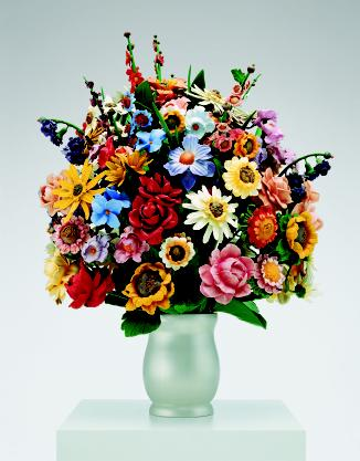 Large Vase of Flowers, Jeff Koons, 1991 © Jeff Koons