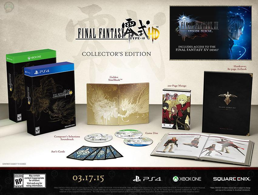 Final Fantasy Type-0 HD : Un collector