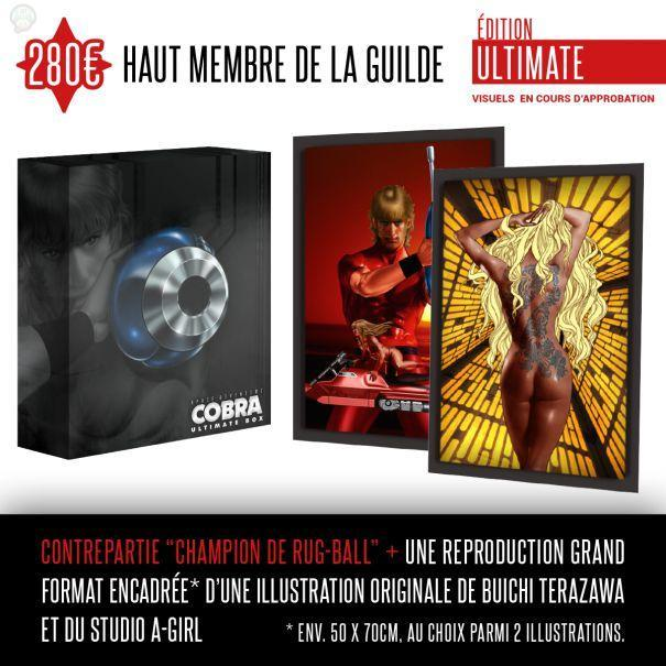 5119eab11d94f9f6312e9c8ba7e554acddc071f3 Space Adventure Cobra : Le collector  collector cobra BluRay