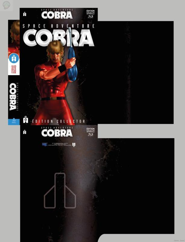 Space Adventure Cobra : Le collector  collector cobra BluRay