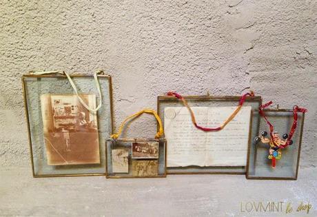 Cadres en laiton vintage ©lovmint