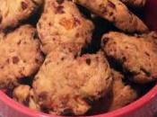 Cookies apéritifs chorizo, poivron, parmesan