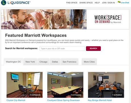 Liquid Space et Marriott