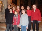 Retour image concert Noël l'abbatiale Nantua (Ain)