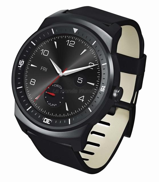 Test de la montre connectée LG G Watch R sous Android Wear
