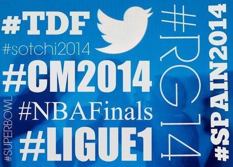 L'année sportive 2014 vue par Twitter