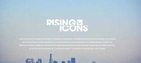 «Rising Icons», le dispositif de Grey Goose...