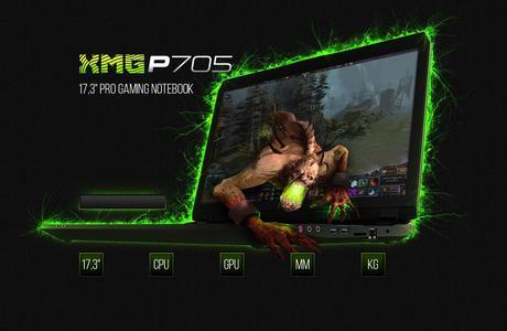 XMG dévoile sa nouvelle gamme de portables pour joueurs
