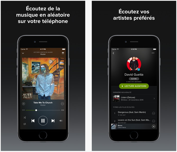 Spotify 2.2 iPhone