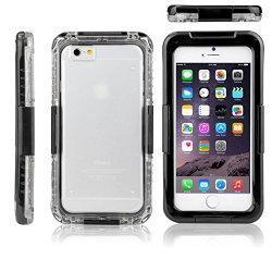 SAVFY Coque étanche cas pour iPhone 6 4.7 pouces Avec ce cas, vous pouvez protéger votre téléphone de l'amour quand vous appréciez toutes sortes de sports de plein air, piscine ou lorsque vous la cuisson dans la cuisine, prendre une douche dans la sa...