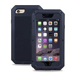 SAVFY Coque étanche Heavy Duty aluminium métal pour l'iPhone 6 4,7 pouces Avec ce case, vous pouvez protéger votre téléphone de l'amour quand vous appréciez toutes sortes de sports de plein air, piscine, Diving, Patinage, ou lorsque vous la cuisson d...