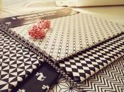 {DIY couture} Réaliser joli coussin noir blanc style scandinave