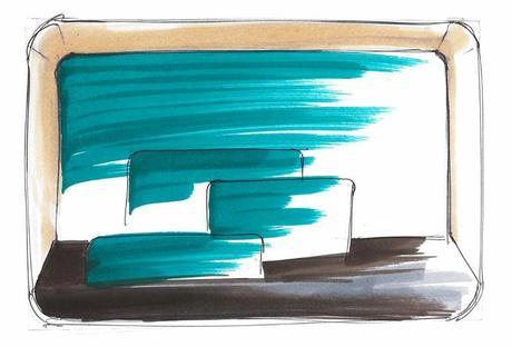 Projet étudiant : OKA secrétaire mural par Pierre-Alexandre CESBRON Ecole Boulle