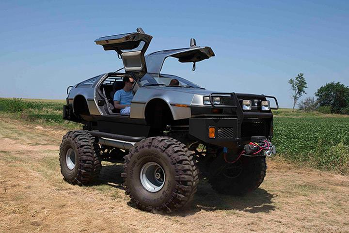 Rich Weissensel transforme les DeLoreans