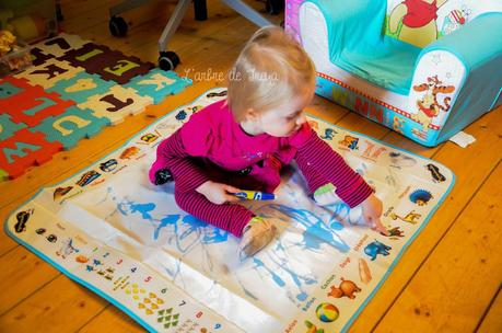 Qu'apporte St Nicolas à un enfant de 21 mois?