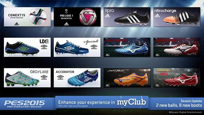 PES 2015 – Le second Data Pack gratuit disponible