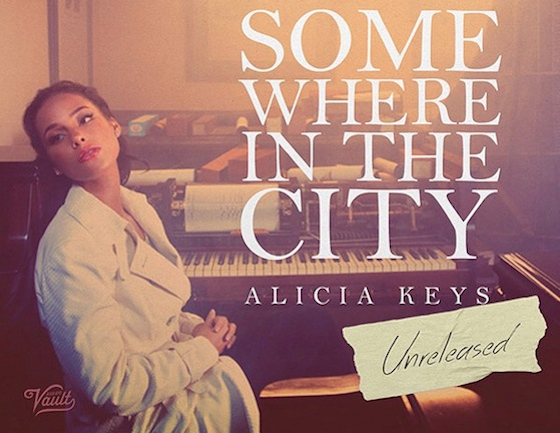 NEW MUSIC: ALICIA KEYS – « SOMEWHERE IN THE CITY »