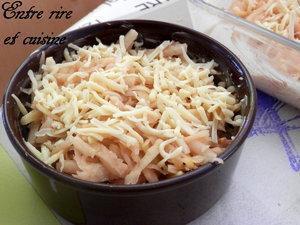 Râpé de Pommes de Terre au Thon et Poireaux en sauce